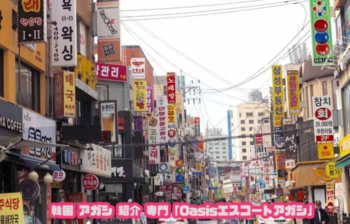 韓国アガシ と 蚕室セネ
