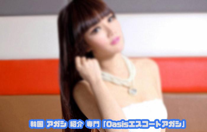 韓国美女らしい素人感ある 韓国アガシ がお相手してくれます