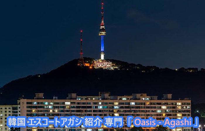 エスコートアガシ 韓国アガシ と Nソウルタワー